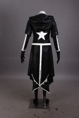 Vocaloid 2 BLACK-ROCK SHOOTER BLACK ROCK Miku Cosplay costume Kostüm full set 2