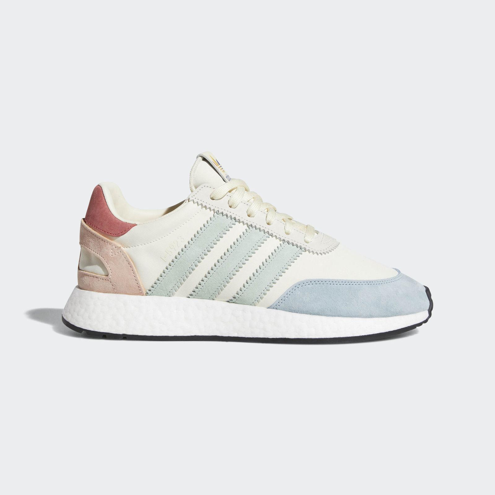 Adidas I-5923 Iniki Pride size 13. Cream Ash Green Red . Multi color B41984 nmd