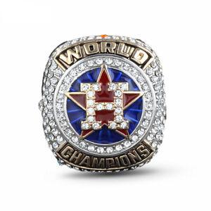 Men-039-s-Sport-Ring-Houston-Astros-Ring-Championship-Ring-Sport-Fans-Gift