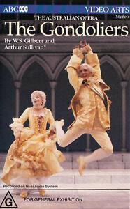 THE-GONDOLIERS-Gilbert-and-Sullivan-Australian-Opera-VIDEO-VHS-Pal-SirH70