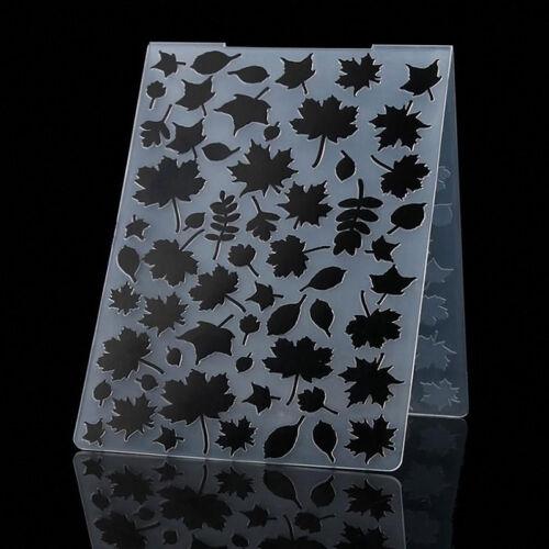 Kunststoff Mold Stencil Embossing Folder Template DIY Karte Scrapbooking-Dekor·