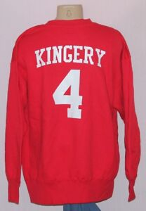 sale retailer 7dba9 609cf Details about Philadelphia Phillies Scott Kingery Jersey Sweatshirt Red -  MLB Majestic