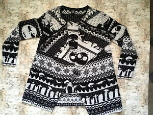 Hot Topic Nightmare Before Christmas Sweater.Details About Nightmare Before Christmas Sweater Small Hot Topic