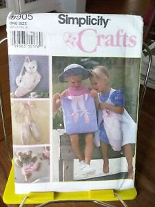 Oop-Simplicity-Crafts-8905-childs-ballet-wallhangings-totes-NEW