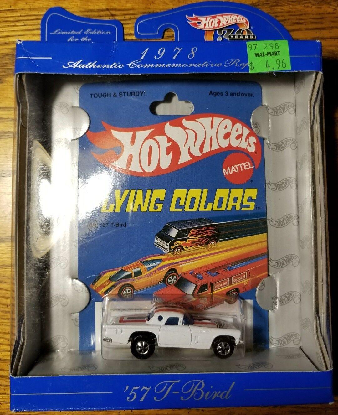 comprar nuevo barato Hot Hot Hot Wheels Flying Colors 57 T PÁJARO Mattel Nuevo blancoo, (11I)  70% de descuento