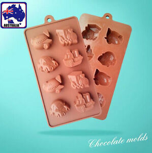 Eight-Vehicles-Chocolate-Cake-Fondant-Mold-Silicone-Baking-Bakeware-HKIMO-6810