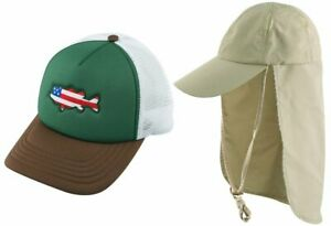 df0cd59d AKASO 2 Pack Sun Caps with Neck Flap Baseball Cap, Quick Dry & ...