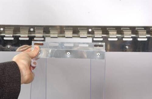 Clear Flexible PVC Door Strip Curtain 200mm x 2mm x 50m