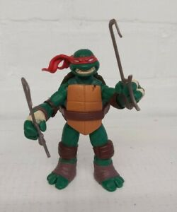 Teenage-Mutant-Ninja-Turtles-Raphael-Figurine-Viacom-2012-TMNT-Battle-Sai