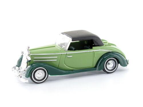 Busch 40508-Gruen 1 h0 automóviles mercedes 170s cabrio