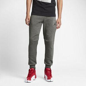 ab41e91bcf73 Jordan Icon Fleece Cuffed Sequoia   809472-355   Nike Men Sweatpants ...