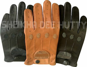 c35bbb9fdeefc Image is loading TOP-QUALITY-REAL-SOFT-LEATHER-MENS-DRIVING-GLOVES-
