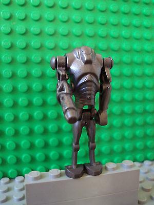 Lego Star Wars Minifig ~ Super Battle Droid w//Arm Cannon ~ Pearlized Dark Gray