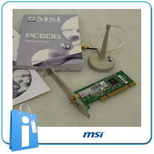 DRIVERS UPDATE: MSI PC60G WIRELESS