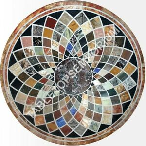 Marble Dining Table Top Mosiac Art Coffee Table with Royal Look use for Home Decor Furniture