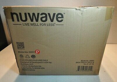 Nuwave Pro Plus Infrared Oven Black With Dome Model 20601 New In Open Box 652185206014 Ebay