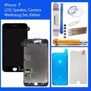 LCD DISPLAY für iPhone 7 RETINA HD 3D KOMPLETT VORMONTIERT Schwarz