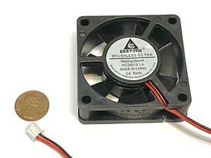 4 Pieces 6015 GDStime 24v 60mm x 15mm 6cm pc case 2pin cooling heatsink Fan c39