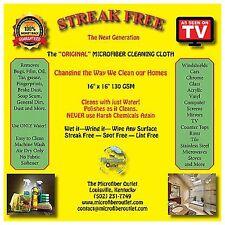 Streak Free White Microfiber MultiPurpose Cleaning Cloths Lint Free 100 + 5 gift