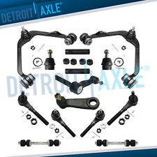 Ford F 150 Expedition 4wd 14pc Front Upper Control Arm Idler Sway Bar Tierod Kit Fits 1997 Ford F 150