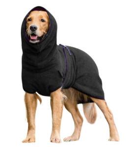 DogTowelling Drying Bath Robe Coat Warm Cosy Fast Drying