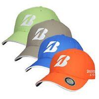 Bridgestone Golf Pearl Nylon Performance Cap. Green