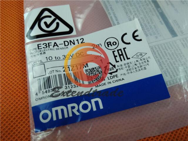 New E3FA-DN12 OMRON Photoelectric sensor Photoelectric switch
