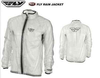 FLY RACING Medium Rain Jacket Coat Suzuki Yamaha Kawasaki Honda KTM Husqvarna MX