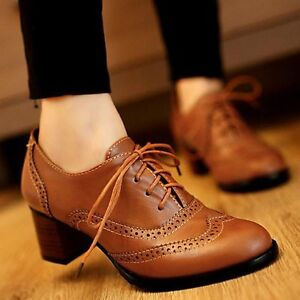 Womens Vintage Style Oxford Shoes Uk