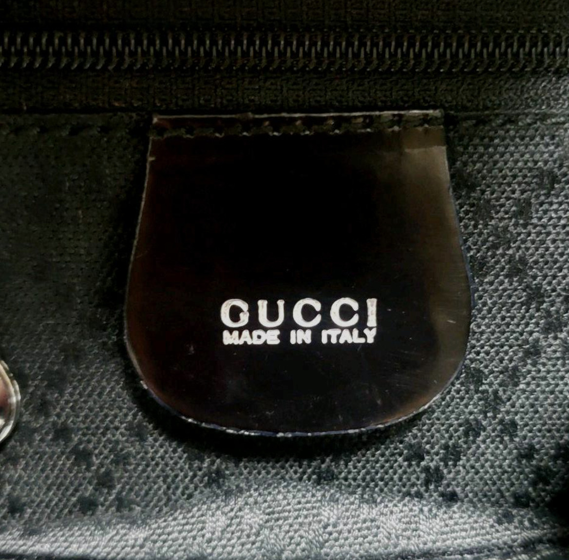 Authentic Gucci GUCCI Bamboo Backpack vintage nyl… - image 5