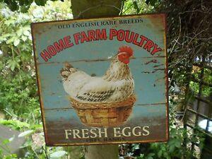 Vintage-Style-Farmyard-Home-Farm-Poultry-Fresh-Eggs-Sign-Kitchenalia-Garden