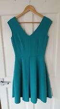 Worn Once £65 ASOS/Closet Size 6 8 Teal Green Skater Dress Wedding Summer Party