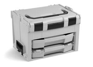 Bosch-Sortimo-LS-BOXX-306-Werkzeugkoffer-System-i-BOXX-72-C3-Schublade-grau