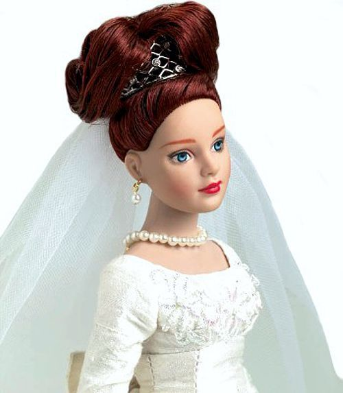 Robert Tonner Dolls  Forever Yours Bridal Hat Box Set  Redhead