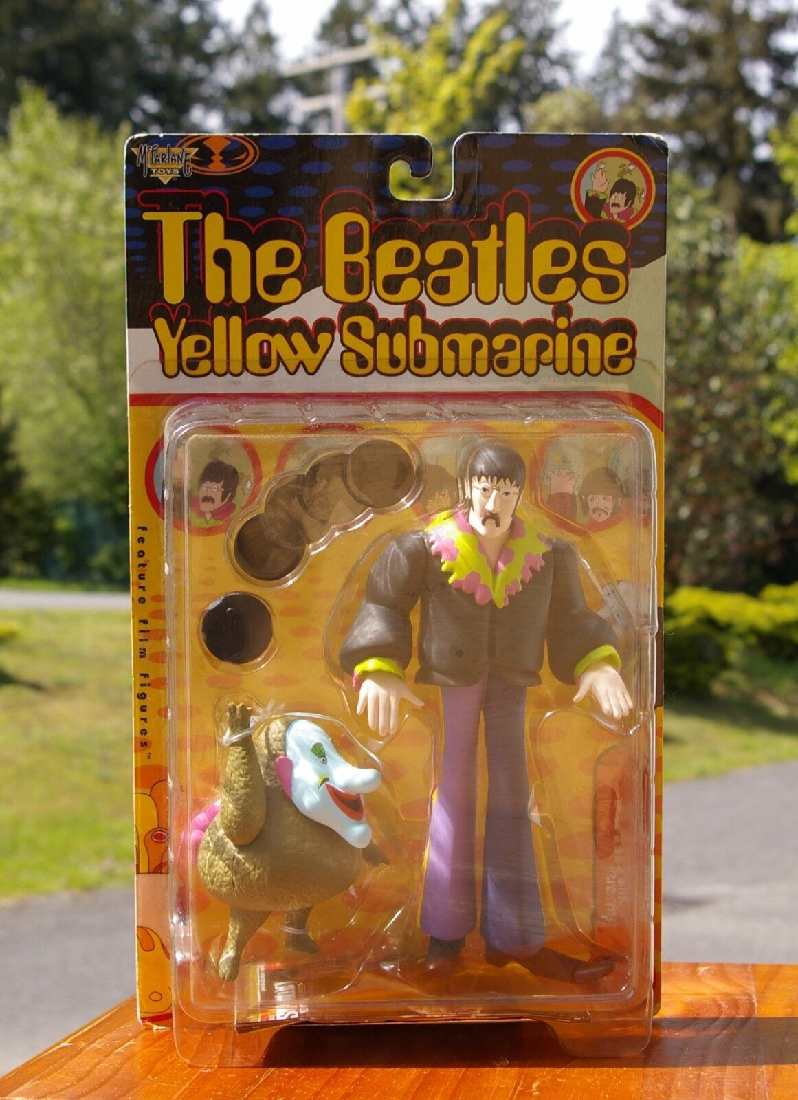 The Beatles Yellow Submarine John Jeremy Action Figure 1999 by Mc Farlane Toys