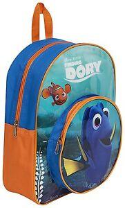 Finding Dory Nemo Backpack Rucksack Boys Girls School Nursery New