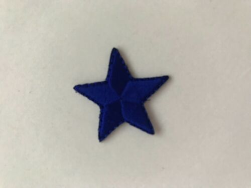 """Star Iron on Applique patch 1 inch 1/"""" x 10 **DIFFERENT COLOURS***"""