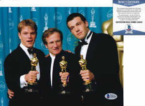 Matt-Damon-Good-Will-Hunting-Signed-Autograph-8x10-Photo-Beckett-BAS-COA-10
