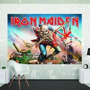 Official-Iron-Maiden-The-Trooper-Giant-Poster-Wall-Mural-2-32m-x-1-58m