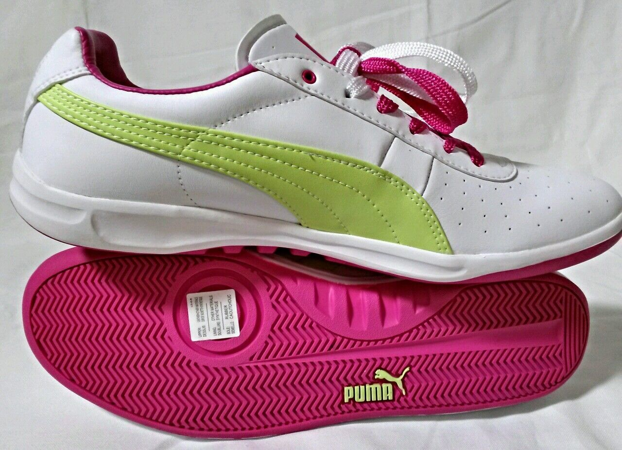 femmes  SZ 11 PUMA GV G VILAS ATHLETIC ATHLETIC ATHLETIC TENNIS FASHION  Chaussures blanc  BERRY rouge VOLT 32abef
