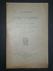 Bibliographie C. Jouhanneaud - Réforme cathol. du XVIIe siècle Abbé Aulagne 1907