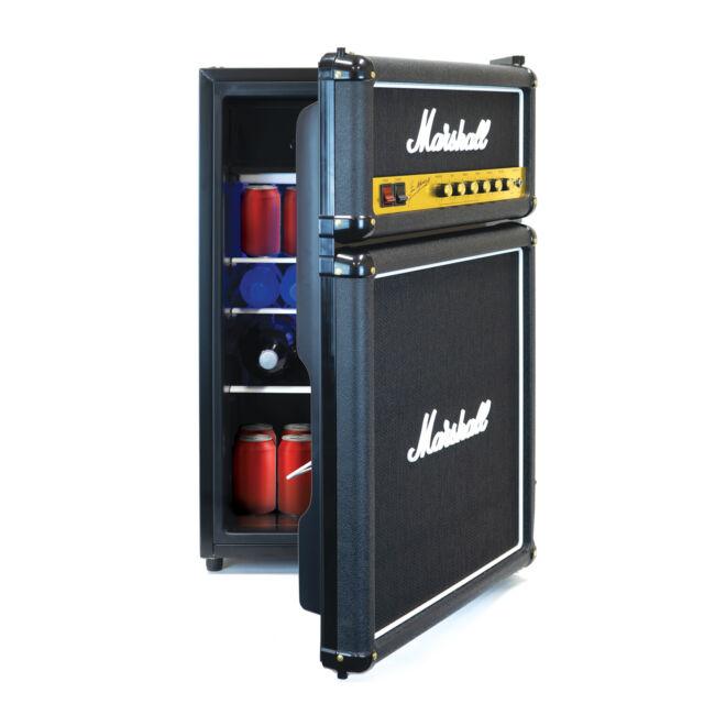 Marshall Large Capacity Bar Fridge - Black NEW 2019 VERSION with Freezer Demo!