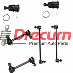 PartsW 4 Pc Front /& Rear Suspension Kit for Acura MDX 2001-2005 /& Honda Pilot 2003-2005 Sway Bar End Link