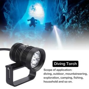 6-XM-L2-LED-Rot-Blau-Tauchlampe-Taucherlampe-Taschenlampe-Fotografie-bis-150m-tl