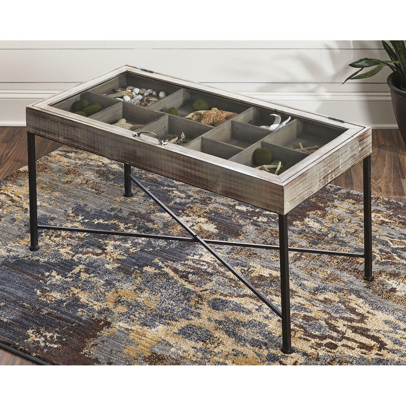 Grey LeisureMod Randolph Modern Accent End Table Side Table