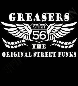 Greasers-T-Shirt-Rockabilly-Psychobilly-50-039-s-Cafe-Racers-Rock-amp-Roll-Fifties-ace
