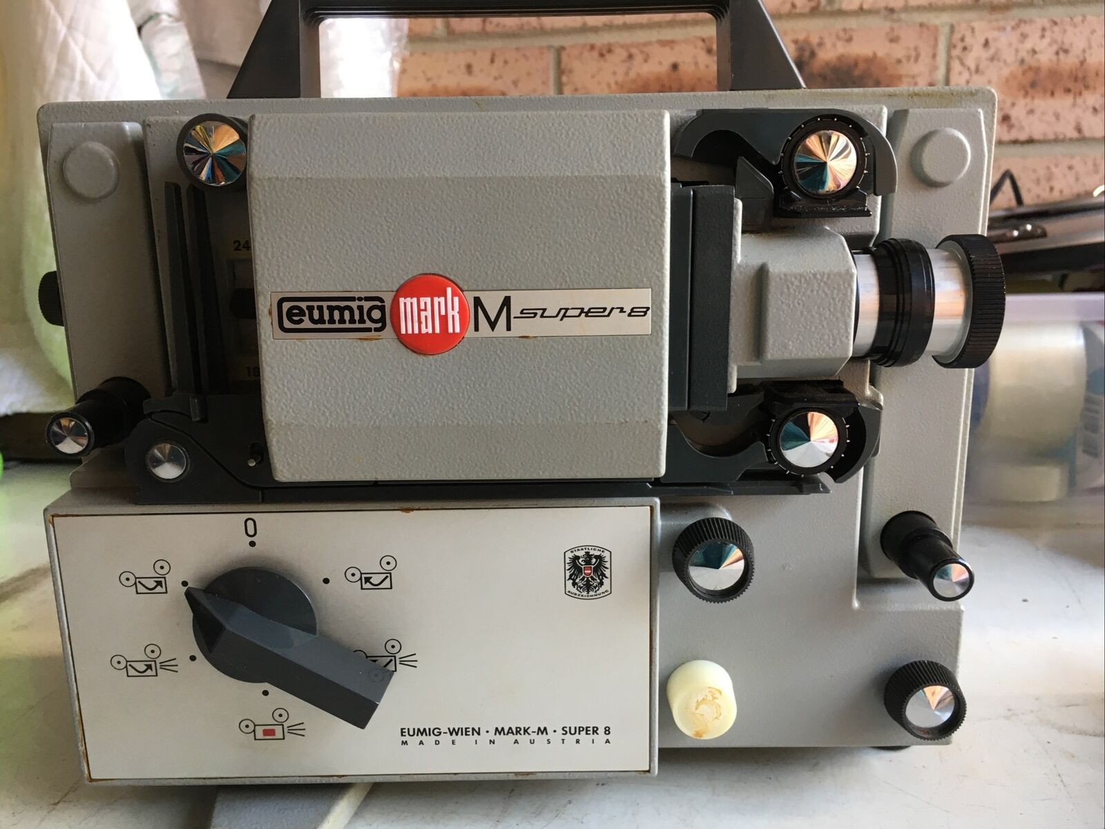 Eumig Mark M Super 8 Film Projector, In very good working condition