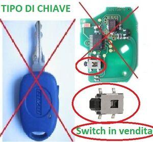 MICRO-SWITCH-PULSANTE-X-COVER-CHIAVE-FIAT-MULTIPLA-BRAVO-DUCATO-PUNTO-MAREA