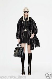 d885d8985a6 New VERSACE Knee High Black Suede Boots with gold Medusa heel and ...