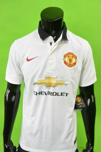 NIKE MANCHESTER UNITED 201415 Away Shirt SIZE M adults
